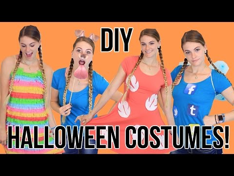 Last Minute Halloween Costumes! Super Easy & Cheap! - 동영상