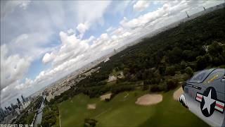 a7 corsair edf jet vertical crash
