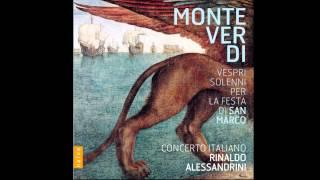 Rinaldo Alessandrini / Concerto Italiano - Selva morale, psalmus 109: Dixit dominus secondo a 8