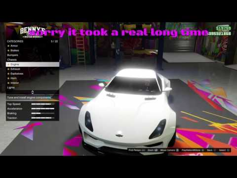gta 5 NEW CAR specter !