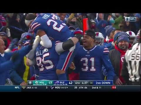KYLE WILLIAMS 1ST CAREER CATCH