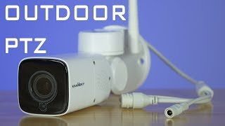 KAANSKY WiFi Outdoor PTZ Security Camera Review - Affordable!
