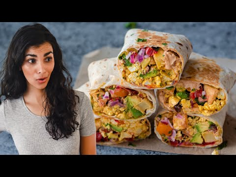 How to make incredible vegan breakfast burritos at home