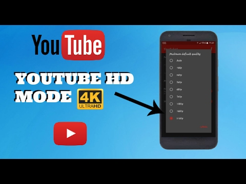 How To Increase Video Resolution Upto 4K Of YouTube In Android Device