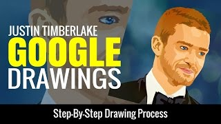 Step-By-Step Google Drawings Vector Portraits Lesson