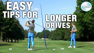 Easy TIPS for LONGER DRIVES | ME AND MY GOLF