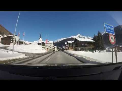 GoPro Driving - Swiss Alps - Rhone-Route - Brig to Oberwald