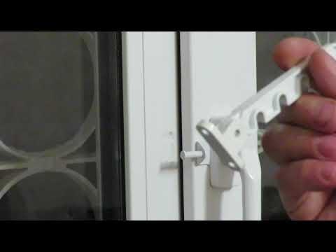 Ограничитель на открывание створки пластикового окна