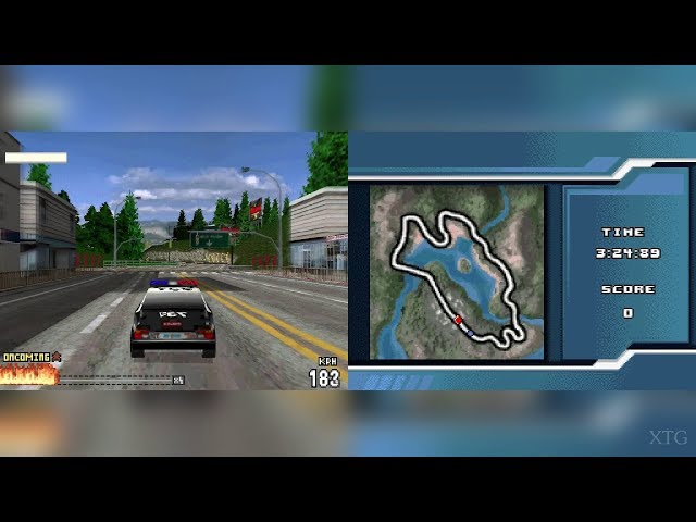 Burnout Legends Nintendo DS Gameplay HD (DeSmuME)