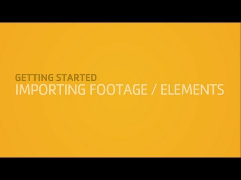 Step Up To Nuke | Importing Footage / Elements