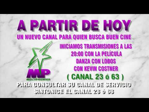 MVS AVISO PRESENTACIÓN CANAL MULTIPREMIER  ( 1995 )
