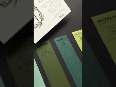 Wedding Invitations -Envelope Matching