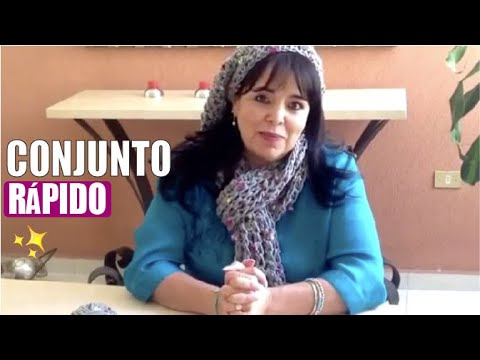 JUEGO TEJIDO BUFANDA Y GORRO , Con DEDOS fácil y rápido , Tejiendo con LAURA CEPEDA