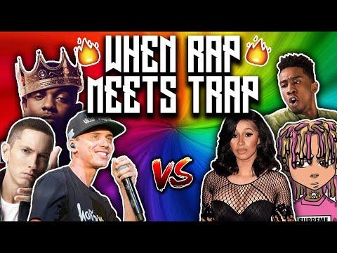 WHEN RAP MEETS TRAP (ft. Eminem, Lil Pump, Logic, Cardi B)