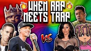 RAP VS. TRAP (ft. Eminem, Lil Pump, Logic, Cardi B)