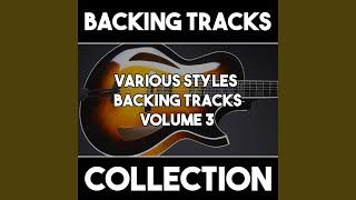 Gospel Soul Blues Backing Track in C