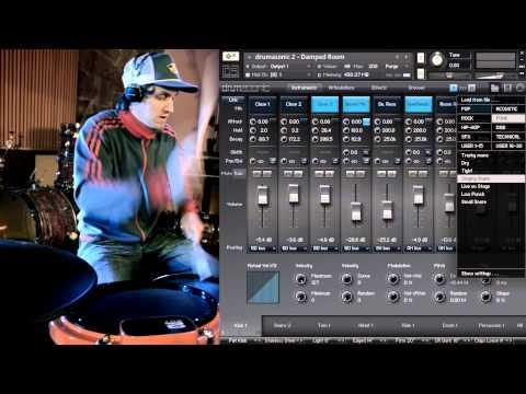 Amazing drum solo [drumasonic 2 preset walkthrough]