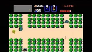 The Legend of ZeĮda (NES) Walkthrough (Part 1) - Level 1