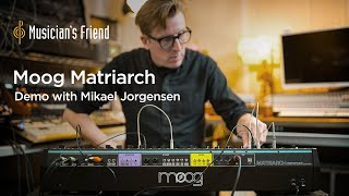 Moog Matriarch Synthesizer Demo with Mikael Jorgensen - All Playing, No Talking