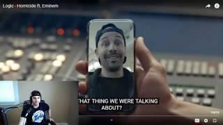 Homicide - Logic feat. Eminem -  - Reaction!