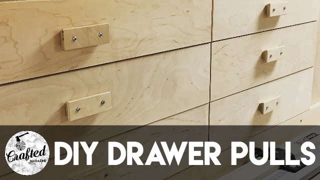 How To Make DIY Drawer Pulls or Cabinet Pulls | Crafted Workshop