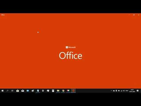 Скачать и установить лицензионный Microsoft Office 2019 Professional Plus и активировать