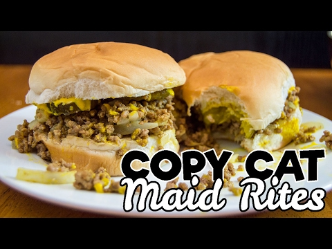 Maid Rite Sandwiches | COPY CAT RECIPE | The Starving Chef