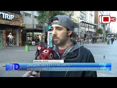 ¿Argentina es estresante?