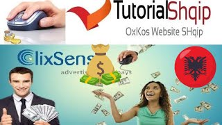 Fitoni Para nga Interneti me PTC Pages kur Klikon ne Reklama Pay To Click Tutorial Shqip