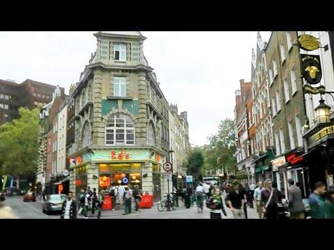 Lost in Soho Square London