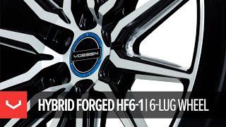 Vossen's all-new Hybrid Forged Wheel: the 6-lug HF6-1