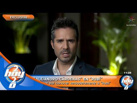 José Ron explica cómo el papel de Alejandro Cárdenas en 'Rubí' le cambió la vida   Hoy