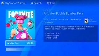 FORTNITE NEW BUBBLE BOMBER PACK! NEW FORTNITE BUBBLE BOMBER SKIN! FORTNITE LEAKED BUBBLE BOMBER