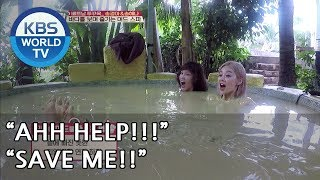 This is how models enjoy mud bath [Battle Trip/2018.07.22]