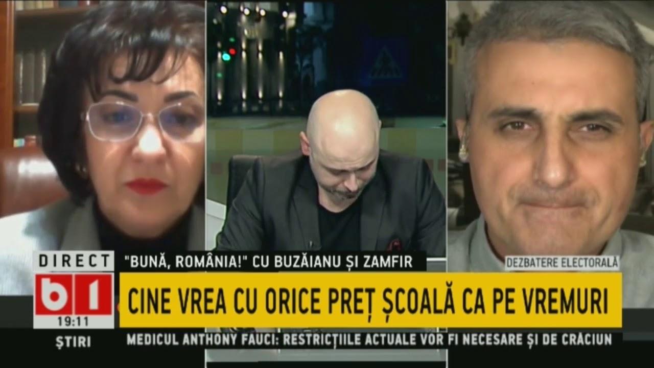 BUNA, ROMANIA! CINE VREA CU ORICE PRET SCOALA CA PE VREMURI. P2/2