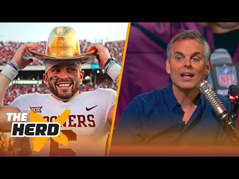 Is Baker Mayfield's cocky attitude hurting his NFL Draft stock? | THE HERD