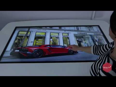 Automotive Collection - Multi-touch Interactive Project