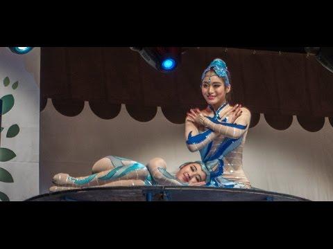 Chinese acrobatic girls