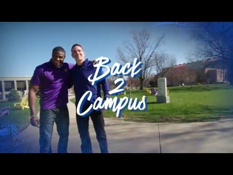 Back 2 Campus: Kurt Warner Returns to Northern Iowa with Deiondre