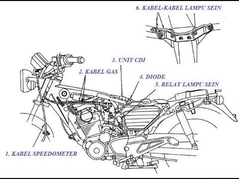 Wiring Diagram Kabel Body Tiger
