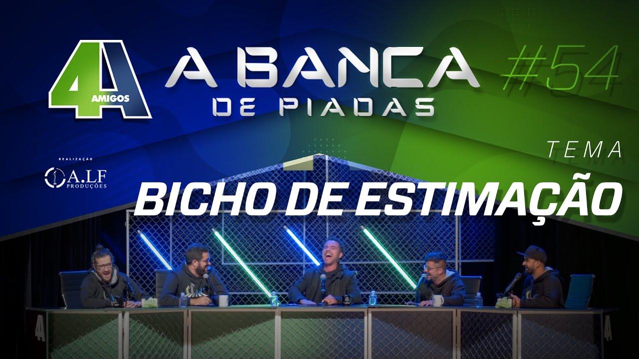 BANCA DE PIADAS - BICHO DE ESTIMAÇÃO - #54 Participação Marco Luque