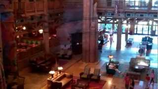 Walt Disney World Wilderness Lodge Resort 2012 HD Florida