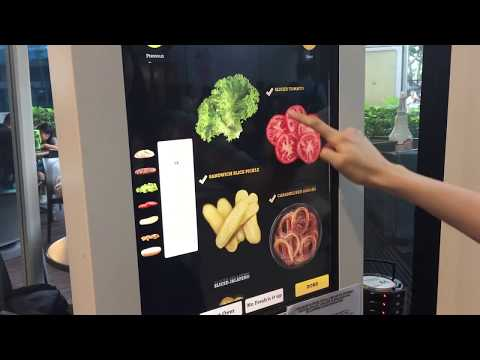 """WE MADE THE BIGGEST BURGER POSSIBLE AT MCDONALD'S SINGAPORE'S """"CREATE YOUR OWN TASTE"""" KIOSK"""