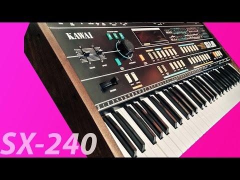 Kawai SX-240 (1984) 8 voice analog synthesizer