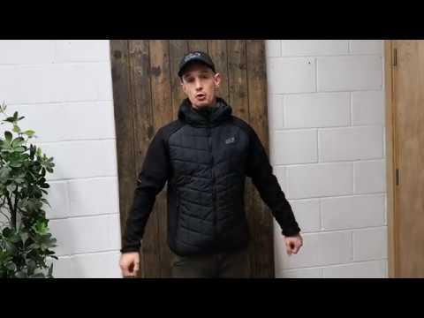 cc253f72e6c Jack Wolfskin Grassland Hybrid Jacket - YouTube