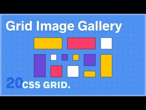 CSS GRID: Image Gallery Exercise — 20 of 25