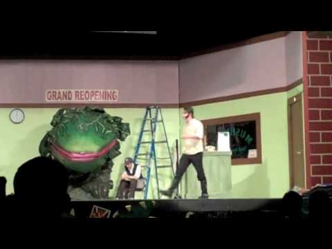"""Arcadia Valley High School's """"The Little Shop of Horrors"""", He's a success!"""