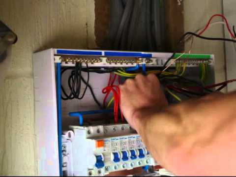 How to upgrade an old consumer unit - YouTube