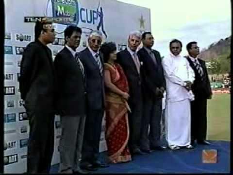 Shyam Bhatia Cricket for Care   Sri Lanka Presentation ceremony