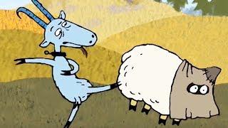 Гора самоцветов - Народные сказки: Про барана и козла, Лис и дрозд